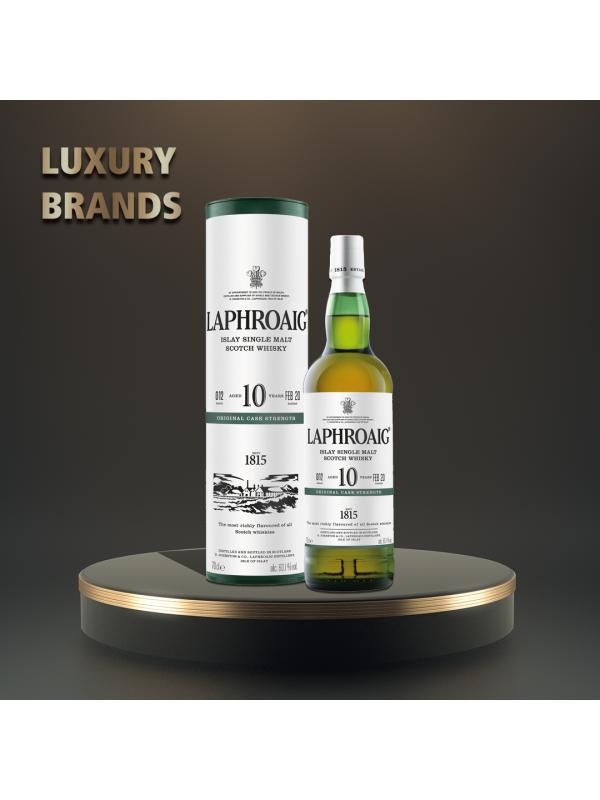 Laphroaig - Scotch single malt whisky 10 yo - 0.7 L, Alc: 40%