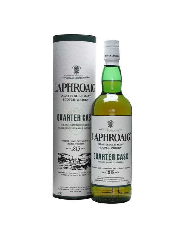 Laphroaig - Scotch single malt whisky quarter cask - 0.7L, Alc: 48%