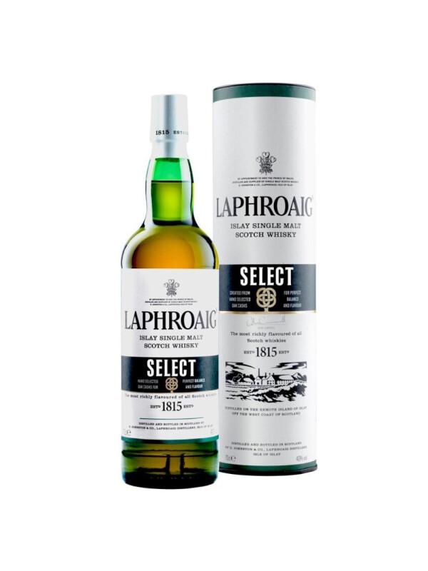 Laphroaig - Select Scotch Single Malt Whisky GB - 0.7L, Alc: 40%