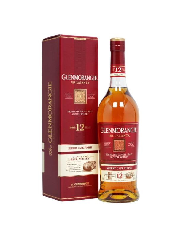 Glenmorangie - Lasanta Scotch Single Malt Whisky 12 yo GB - 0.7L, Alc: 43%