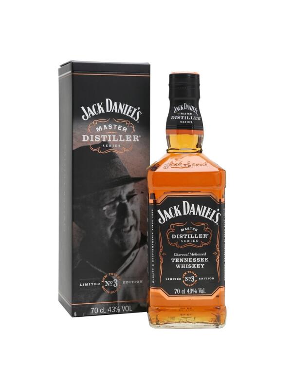 Jack Daniel's - Tennessee whiskey Master Distiller 3 - 0.7L, Alc: 43%