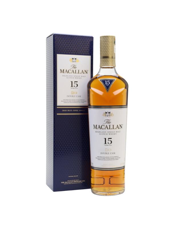 Macallan - Double Cask Scotch Single Malt Whisky 15 yo GB - 0.7L, Alc: 43%
