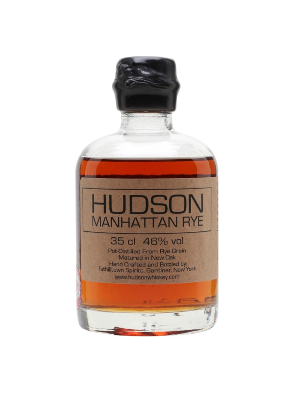 Hudson - Manhattan - American Rye Whiskey - 0.35L, Alc: 46%