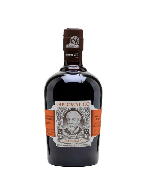 Diplomatico - Rom Mantuano Extra Anejo - 0.7L, Alc: 40%