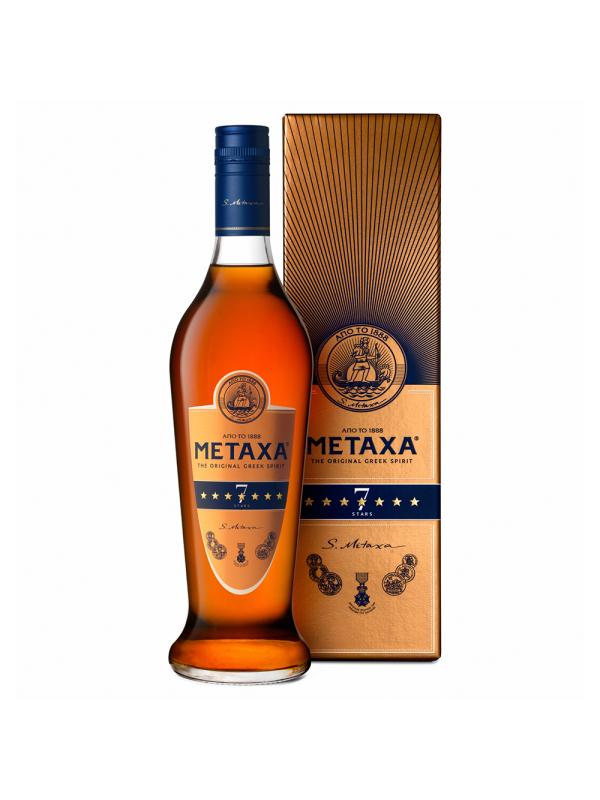 Metaxa - Brandy 7 stele - 1L, Alc: 40%