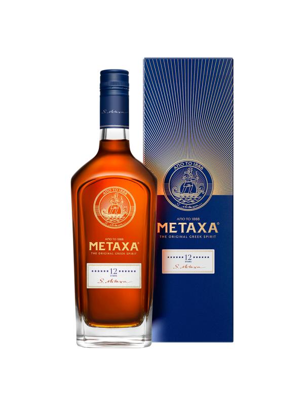 Metaxa - Brandy 12 stele - Gift Box - 0.7L, Alc: 40%