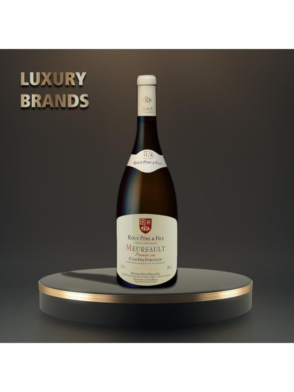 Roux Pere & Fils - Meursault 1-er Cru-Clos Des Poruzots blanc 2013 - 0.75L, Alc: 13.5%