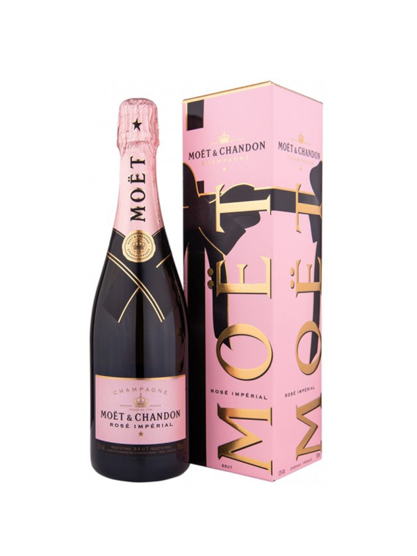 Moet & Chandon - Sampanie brut imperial rose gb - 0.75L