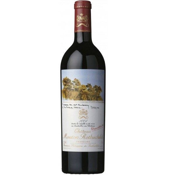 Chateau Mouton Rothschild - Grand Cru Classe rouge 2004 - 0.75L, Alc: 12.5%