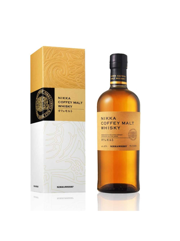 Nikka - Japanese coffey malt + GB - 0.7L, Alc: 45%