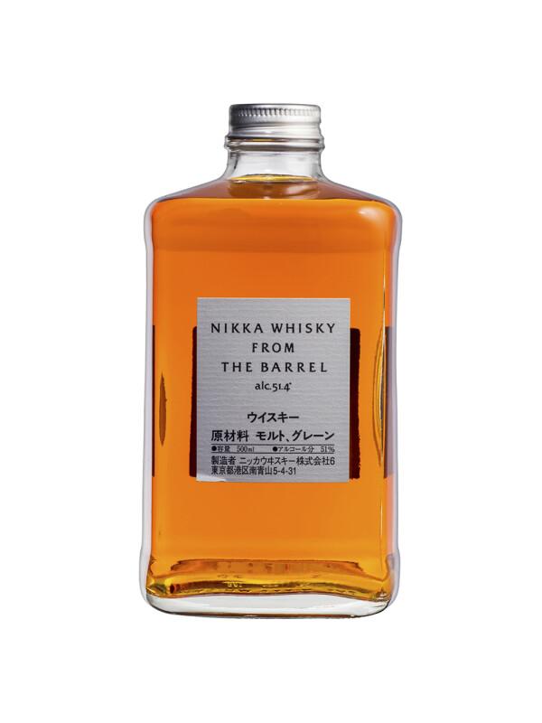 Nikka - Japanese Blended Whisky From The Barrel - 0.5L, Alc: 51.4%