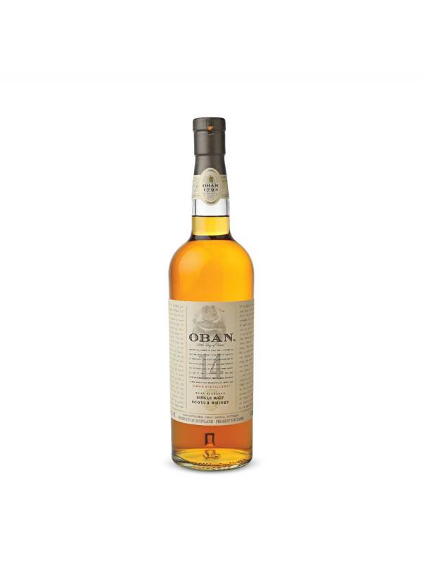 Oban - Scotch single malt whisky 14yo - 0.7L, Alc: 43%