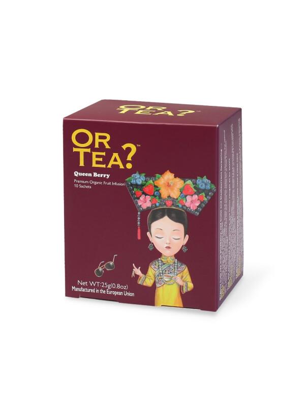 Or Tea? - BIO ceai Queen Berry 10 pl. x 2.5g