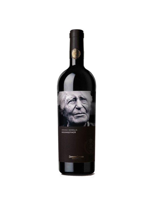 Segarcea - Minima Moralia - Recunostinta, rosu 2017 - 0.75L, Alc: 14%
