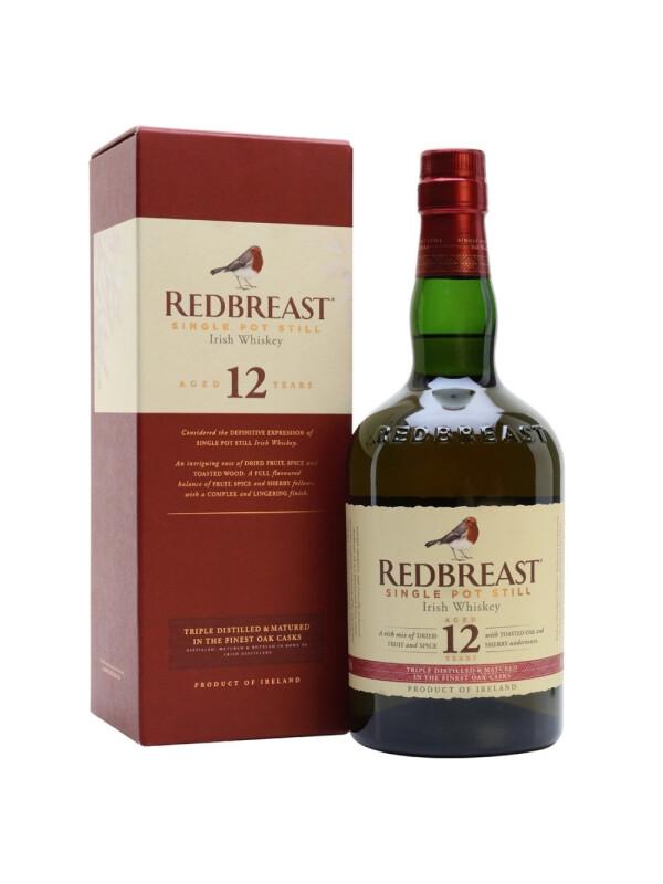 Redbreast - Irish Single Pot Still 12 yo GB - 0.7L, Alc: 40%