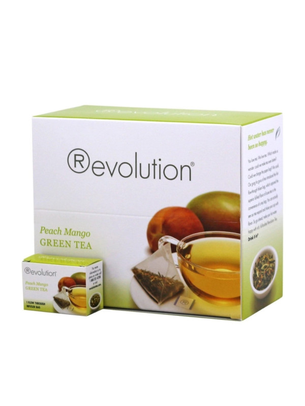 Revolution - Hot tea - Peach mango green 30 plic