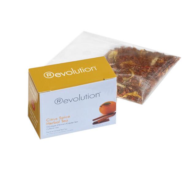 Revolution - Hot tea - Citrus herbal caffe free 30 pl.