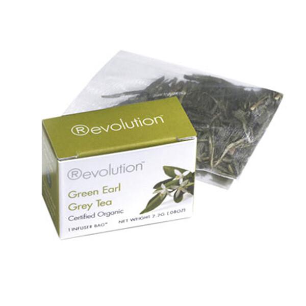 Revolution - Hot tea - Green Earl Grey Organic 30 pl.