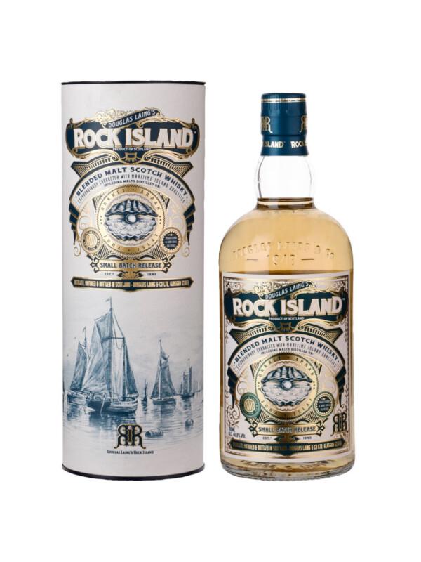 Rock Island - Scotch Blended Malt Whisky GB - 0.7L, Alc: 46.8%