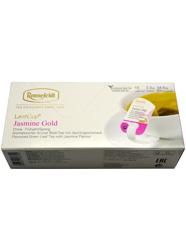 Ronnefeldt - Ceai Leafcup Jasmine Gold 15 pl.