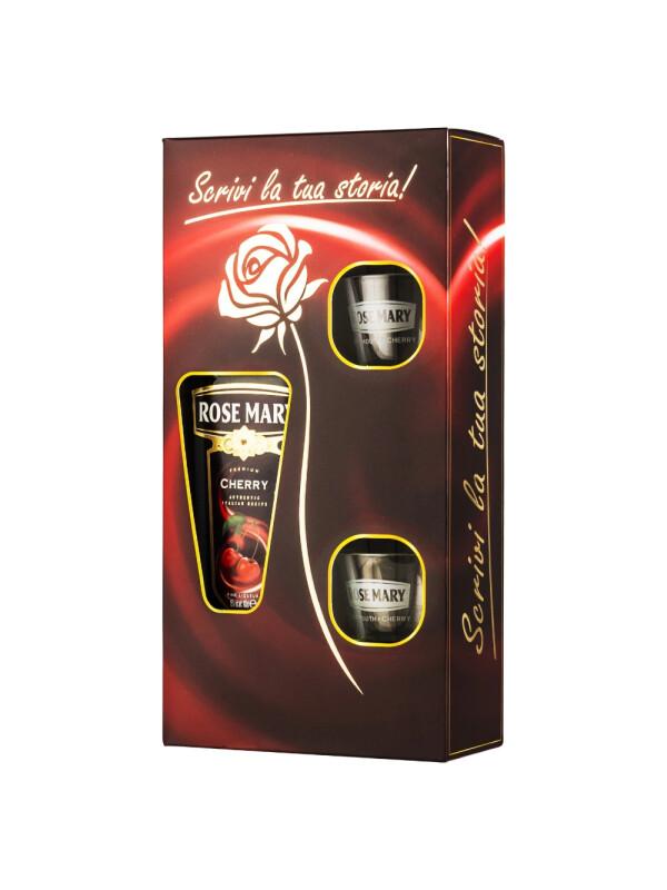 Rose Mary - Cherry + 2 pahare - 1L, Alc: 16%