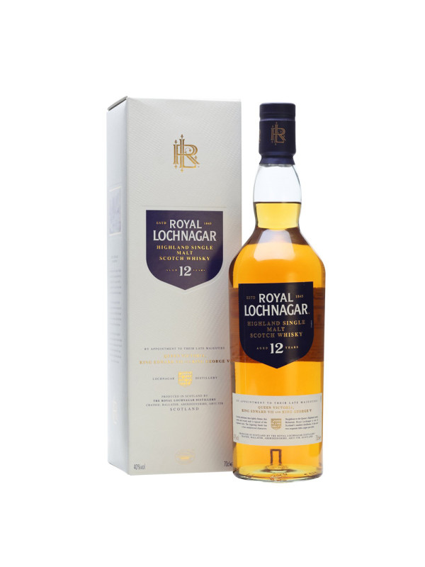 Royal Lochnagar - Scotch Single Malt Whisky 12 yo GB - 0.7L, Alc: 40%