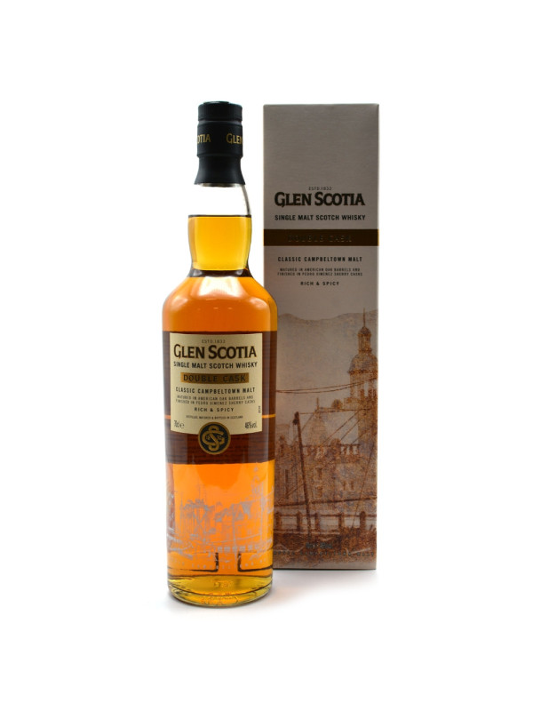 Glen Scotia - Double Cask Scotch single malt whisky 0.7 L