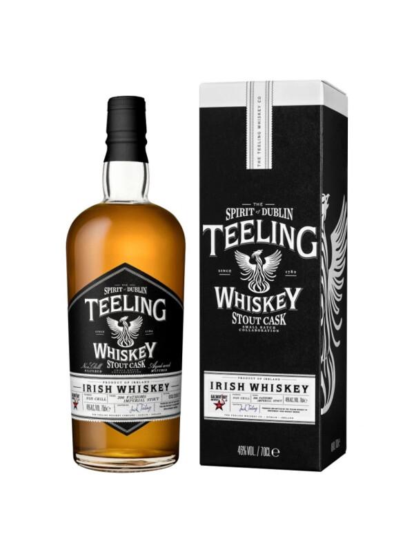 Teeling - Irish Whiskey Stout Cask GB - 0.7L, Alc: 46%