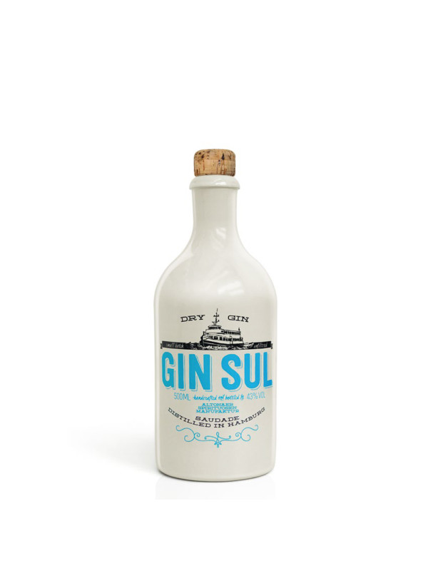 Gin Sul - Dry Gin - 0.5L, Alc: 43%