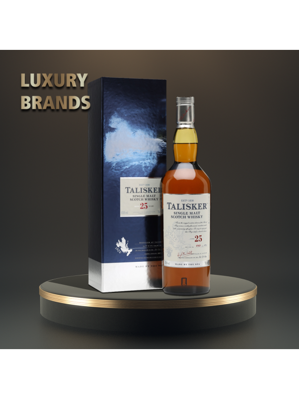 Talisker - Scotch single malt whisky 25yo - 0.7L, Alc: 45.8%