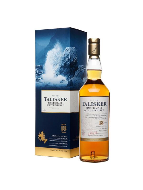 Talisker - Scotch Single Malt Whisky 18 yo GB - 0.7L, Alc: 45.8%