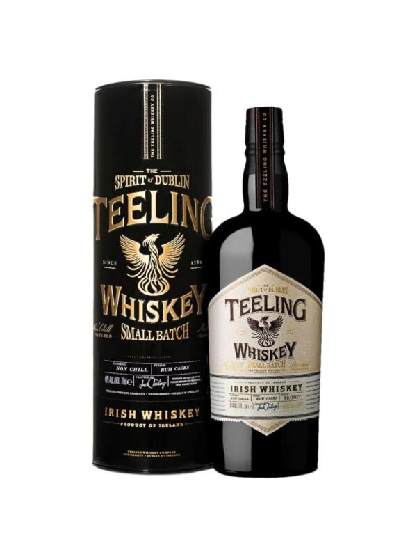 Teeling - Irish Whiskey Small Batch Tin - 0.7L, Alc: 46%