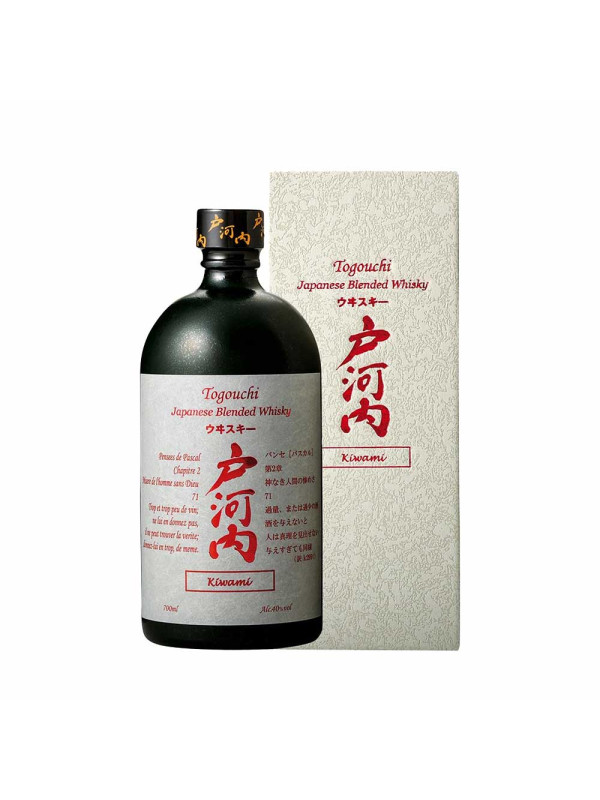 Togouchi - Kiwami Japanese blended whisky + gb - 0,7L, Alc: 40%