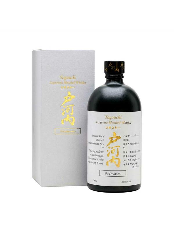 Togouchi - Japanese blended whisky premium + GB - 0,7L, Alc: 40%