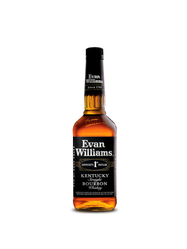 Evan Williams - American Bourbon whiskey Black - 0.7L, Alc: 43%