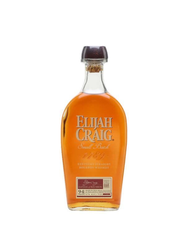 Elijah Craig - Small Batch American Bourbon whiskey - 0.7L, Alc: 47%