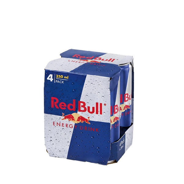 Red Bull - Energy Drink 4 pack x 0.25L - doza