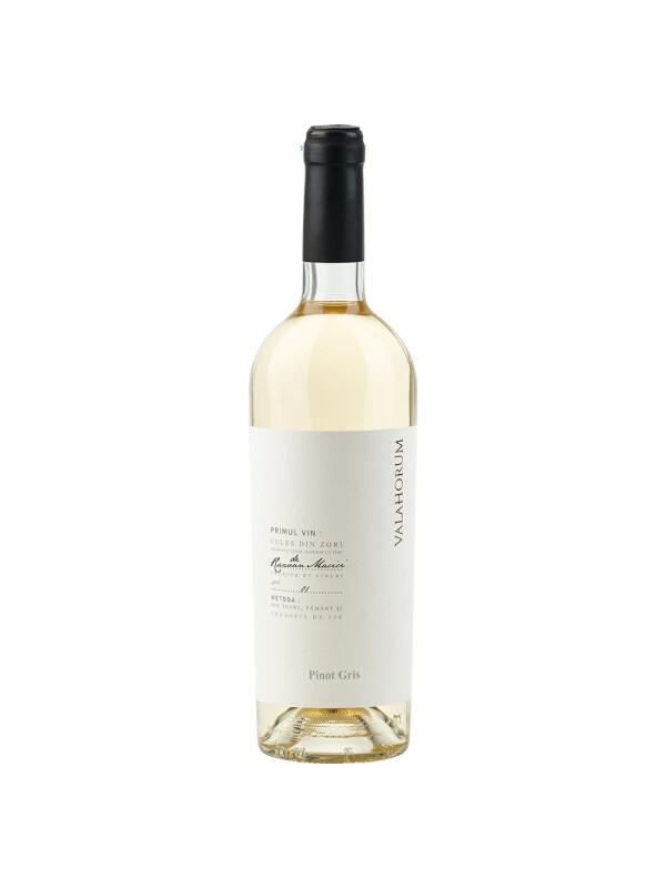 Valahorum - Pinot Gris, alb sec - 0.75L, Alc: 13%