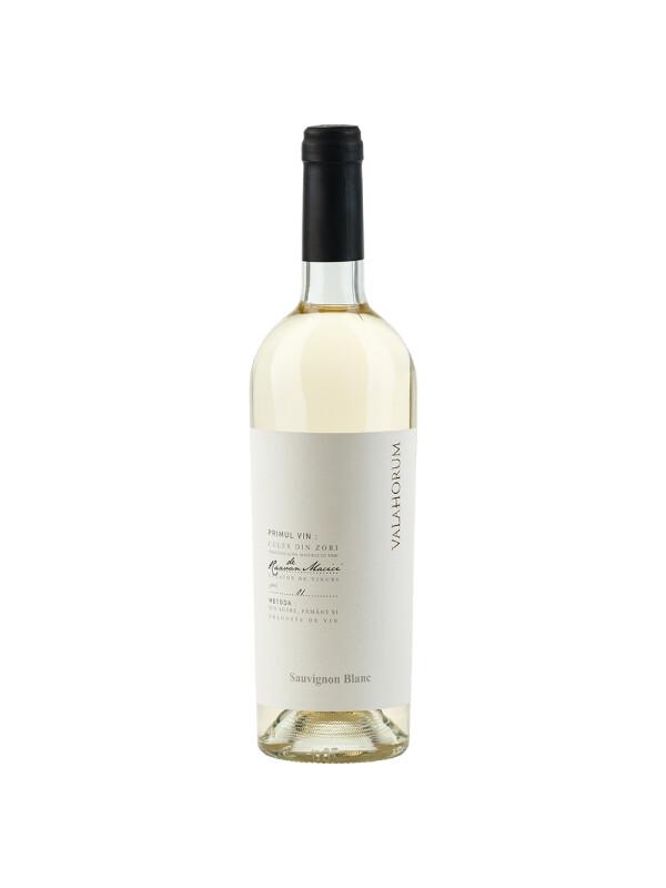 Valahorum - Sauvignon Blanc, sec  2018 - 0.75L, Alc: 13%