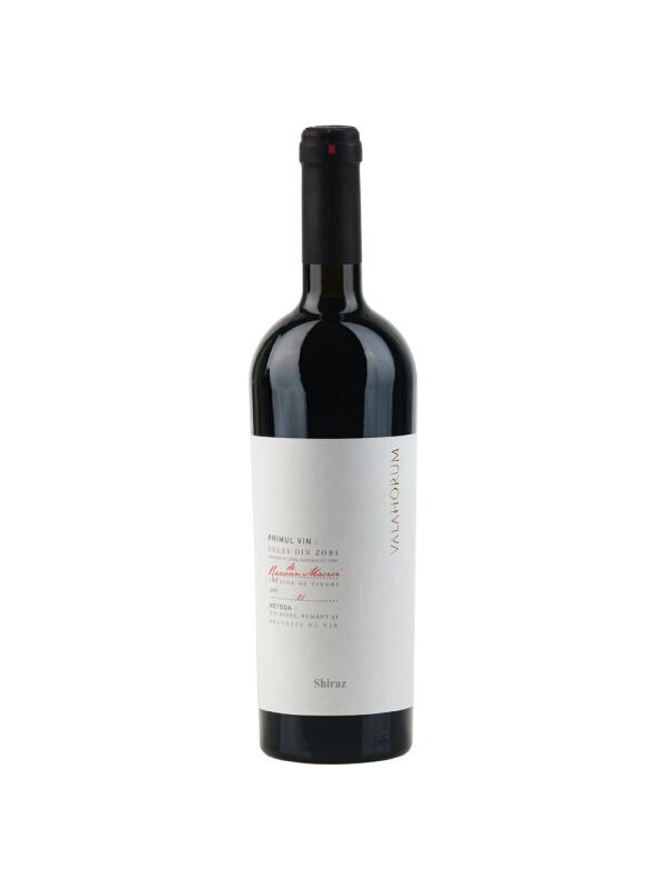 Valahorum - Shiraz, rosu sec - 0.75L, Alc: 14.5%