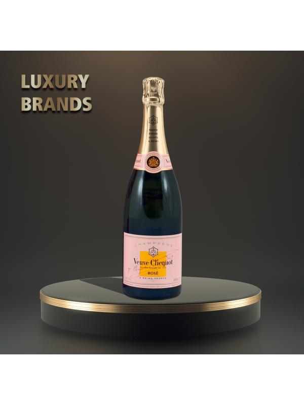 Veuve Clicquot - Sampanie rose - 0.75L, Alc: 12.5%