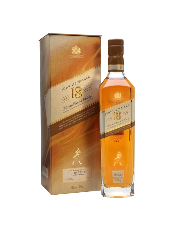 Johnnie Walker - Platinum scotch blended whisky 18 yo - 0.7L, Alc: 40%