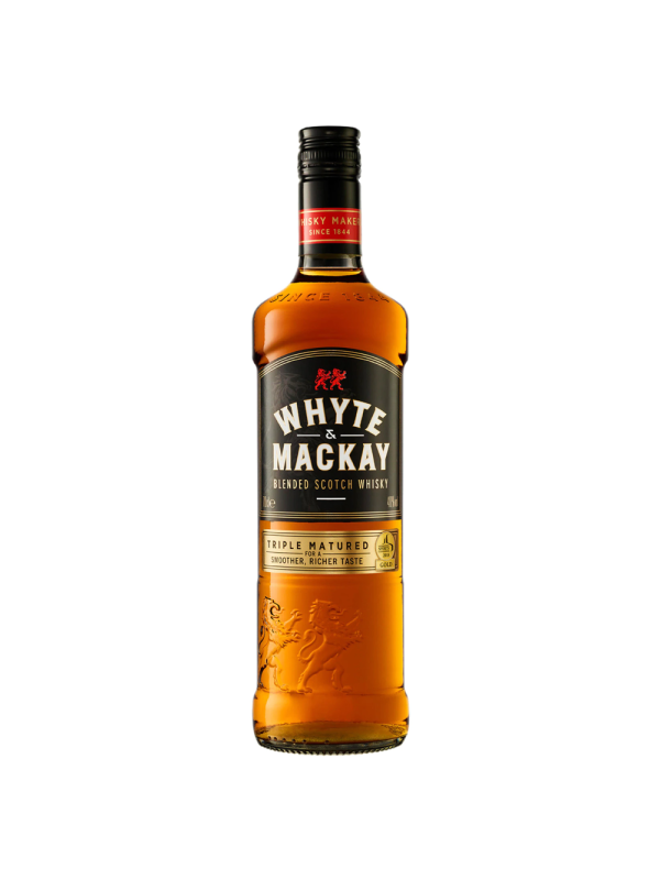 Whyte & Mackay - Scotch Blended Whisky - 0.7L, Alc: 40%
