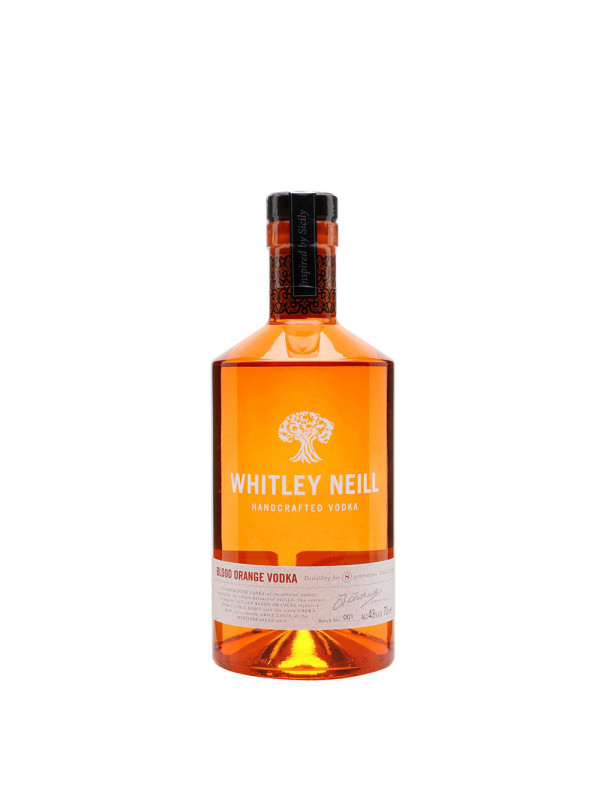 Whitley Neill - Vodka Blood Orange - 0.7L, Alc: 43%