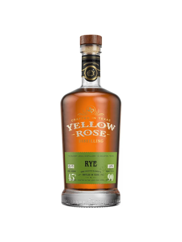Yellow Rose - American Rye Whiskey - 0.7L, Alc: 45%