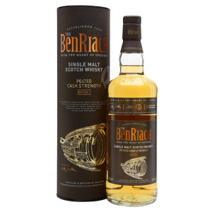 The BenRiach - Batch 1 Cask Strength Scotch single malt whisky 0.7L
