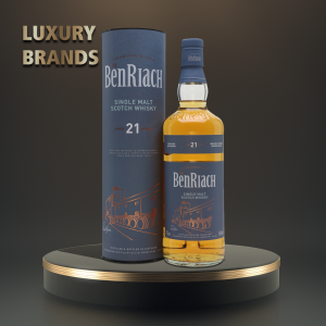 The BenRiach - Flagship Scotch single malt whisky, 21yo - 0.7L, Alc: 46%