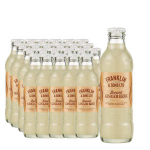 Franklin & Sons - Ginger Beer fara alcool 24 buc x 0.2L