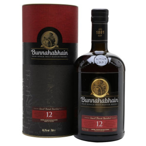 Bunnahabhain - Unchilfiltered Scotch Single Malt Whisky - GB 12 yo - 0.7L, Alc: 46.3%