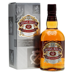 Chivas Regal - Scotch blended whisky 12 yo cutie carton - 1L, Alc: 40%
